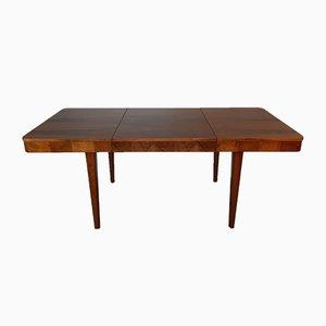 Ausziehbarer Vintage Tisch aus Nussholz von Jindrich Halabala für UP Závody, 1950er