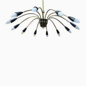 Deutsche Mid-Century Sputnik Lampe, 1960er