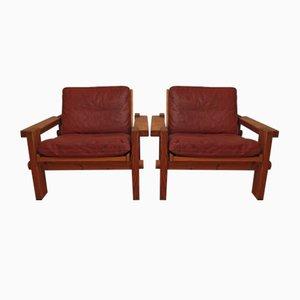 Vintage Kontrapunkt Sessel von Yngve Ekstrom für Swedese, 2er Set