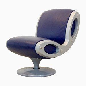 Silla giratoria Gluon italiana de Marc Newson para Moroso, años 90