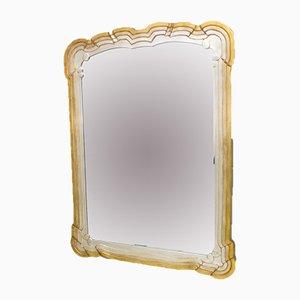 Vintage Belgian Bevelled Mirror, 1970s