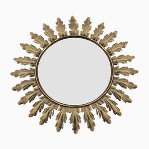 Specchio Hollywood Regency vintage di Deknudt