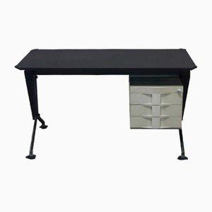 Mid-Century Schreibtisch aus Metall von Olivetti Synthesis, 1960er