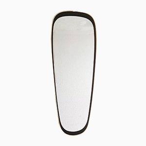 Specchio da parete grande Mid-Century, anni '50