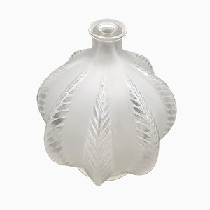 Antike Art Deco Glasvase von René Lalique, 1924