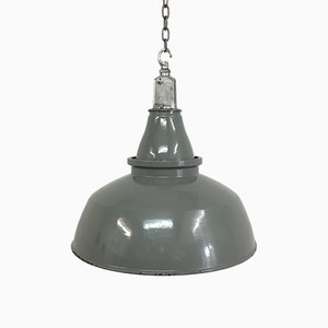 Grande Lampe à Suspension d'Usine de Thorlux, 1950s