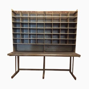 Mid-Century Dutch Post Sorting Unit