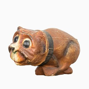 Vintage Dog Candy Jar, 1930s