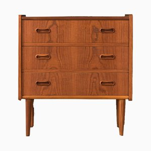 Scandinavian Teak Veneer Dresser from Dyrlund, 1960s