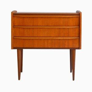 Small Scandinavian Teak Dresser, 1960s