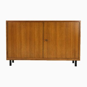 Two-Door Walnut Chest of Drawers, 1960s