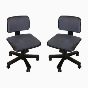 Swivel Chairs from Olivetti, 1960s, Set of 2