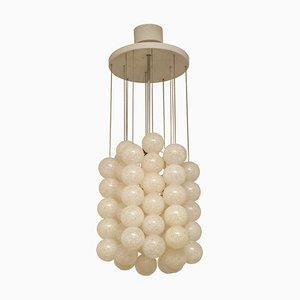 Czechoslovak Metal & Acrylic Chandelier by Josef Hurka for Napako, 1960s