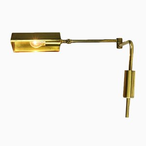 Vintage Monte Brass Wall Light by Florian Schulz