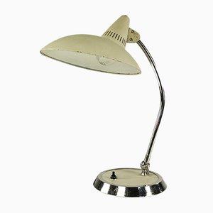 Mid-Century Tischlampe aus Chrom