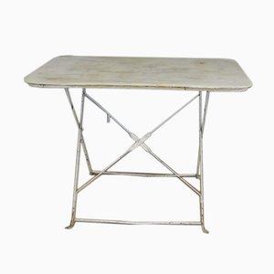 Tavolini da giardino in ferro, anni '20