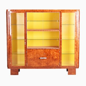 Art Deco Palisander Display Cabinet, 1930s