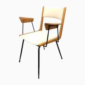 Italienischer Boomerang Stuhl von Carlo de Carli, 1950er