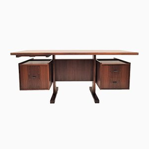 Danish Rosewood Executive Desk, 1960s