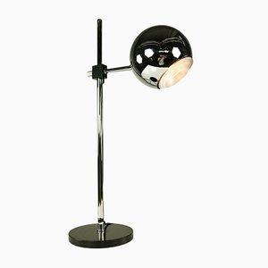 Vintage Chromkugel oder Tischlampe von Staff