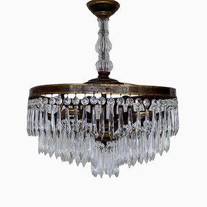 Continental Waterfall Chandelier, 1920s