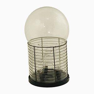 Lampada Alcinoo in vetro di Gae Aulenti per Artemide, anni '70