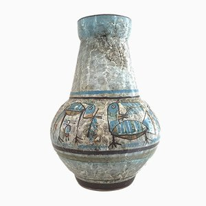 Jarrón de cerámica de Joel Baudoin para Joel Baudoin Durtal, años 60