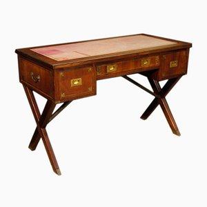Englischer Schreibtisch aus Mahagoni, 1950er