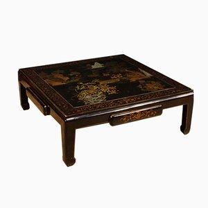 Chinese Lacquered Wood Coffee Table, 1950s