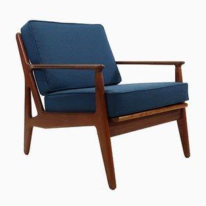 Sessel mit Gestell aus Teak von Arne Vodder für Vamø, 1960er