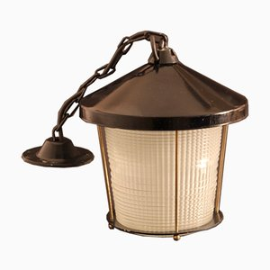French Lantern from Holophane, 1940s