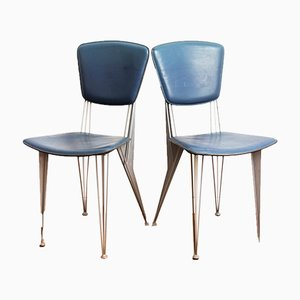 T38 Chairs by Studio Archirivolto for Fasem, 1987, Set of 2