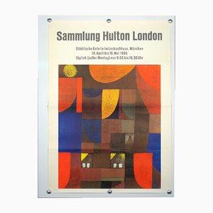 Affiche d'Exposition Sammlung Hulton London, 1960s