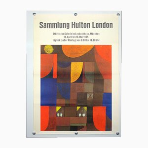 Poster della mostra Sammlung Hulton a Londra, anni '60