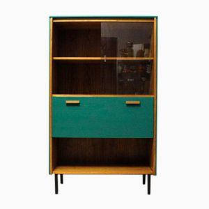 Modernes Mid-Century Bücherregal aus Teak mit Bar, 1960er