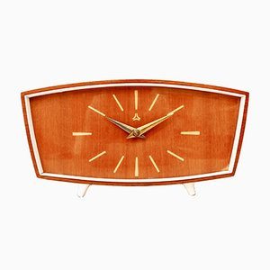 Mid-Century German Table Clock from Ruhla