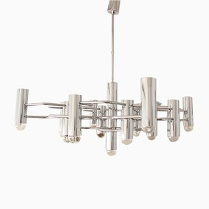 Large Chandelier by Gaetano Sciolari for Boulanger, 1970s