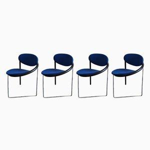 Esszimmerstühle von Castelijn, 1980er, 4er Set