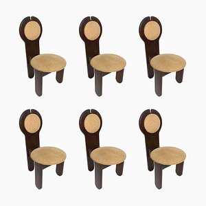 Vintage Chairs by Rudolf Szedleczky, Set of 6