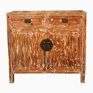 Chinese Lacquered Wood Sideboard