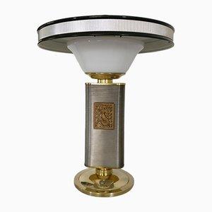 Lámpara de mesa vintage con motivo de sirena de Eileen Gray para Jumo