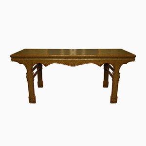 Mesa china de madera lacada, años 50