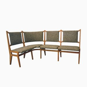 Mid-Century Italian Corner Sofa, 1950s