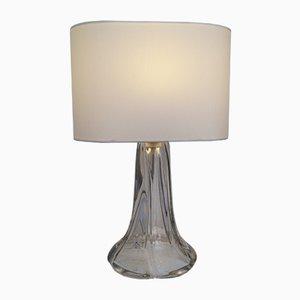 Lampe de Bureau en Cristal de Daum, 1950s