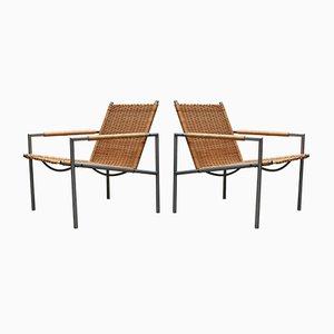 Fauteuils SZ 01 par Martin Visser pour 't Spectrum, 1960s, Set de 2