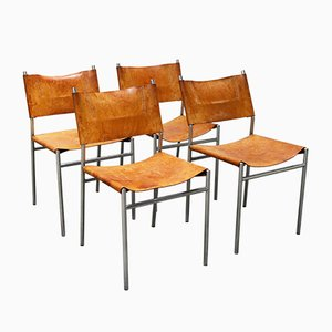 Chaises SE06 par Martin Visser pour 't Spectrum, 1962, Set de 4