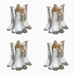 Murano Glass Selle Wall Sconces from Italian Light Design, Set of 4