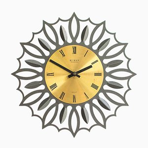 Large Wall Clock from Weimar, 1960s