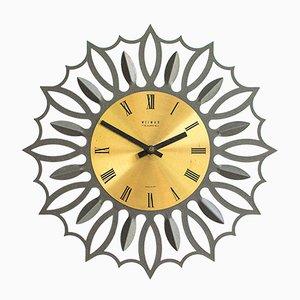 Reloj de pared grande de Weimar, años 60