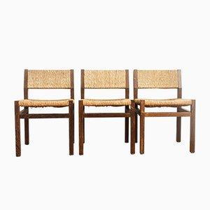 Chaises de Salle à Manger SE82 par Martin Visser pour 't Spectrum, Pays-Bas, 1970s, Set de 3